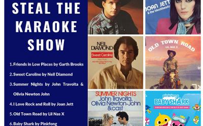 Songs to Steal Karaoke